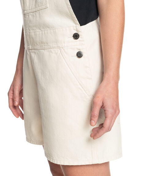 NATURAL WOMENS CLOTHING QUIKSILVER PLAYSUITS + OVERALLS - EQWWD03020-WZA0