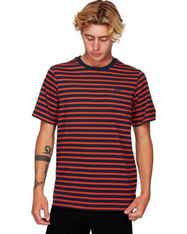 FEDERAL BLUE MENS CLOTHING RVCA TEES - RV-R192061-FEB