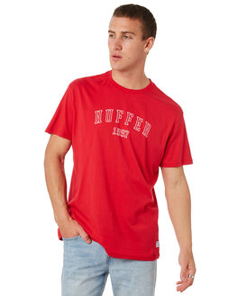 RED MENS CLOTHING HUFFER TEES - MTE84C2301.521RED