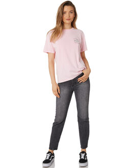NOTE PINK WOMENS CLOTHING RUSTY TEES - TTL0994NPK