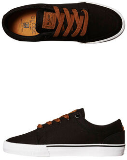 BLACK MENS FOOTWEAR GLOBE SKATE SHOES - GBGSBLK