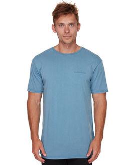 BIJOU BLUE MENS CLOTHING QUIKSILVER TEES - EQYKT03818BNG0