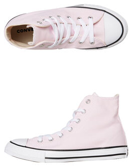 PINK KIDS GIRLS CONVERSE HI TOPS - 663630PINK