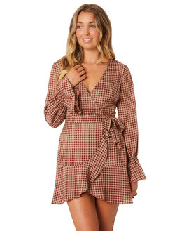 TOFFEE W CREAM WOMENS CLOTHING THE FIFTH LABEL DRESSES - 40190651-1TOFF