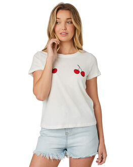 WHITE WOMENS CLOTHING MINKPINK TEES - MP1710002ZWHITE
