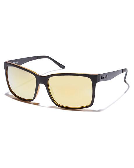 Carve The Island Sunglasses Matt Black Revo One Size 91W96D