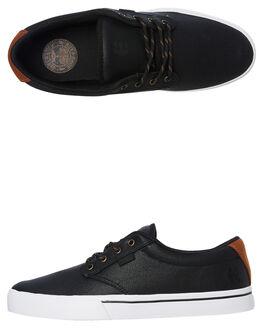 BLACK GOLD MENS FOOTWEAR ETNIES SKATE SHOES - 4101000323970