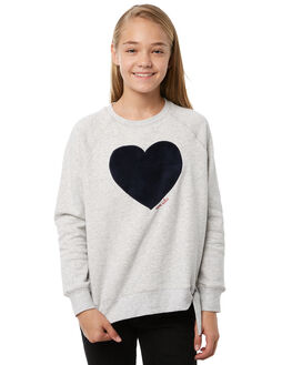GREY MARLE KIDS GIRLS EVES SISTER JUMPERS - 9910039GRM