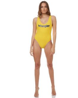 SUNSHINE BLUE WOMENS SWIMWEAR WRANGLER ONE PIECES - W-950936-EE6SUNBL
