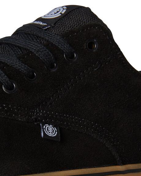 BLACK GUM MENS FOOTWEAR ELEMENT SNEAKERS - 183902BLKGU