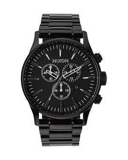 ALL BLACK MENS ACCESSORIES NIXON WATCHES - A386001