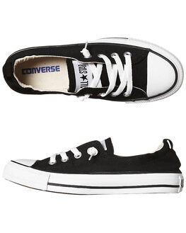 BLACK WOMENS FOOTWEAR CONVERSE SNEAKERS - 537081BLK