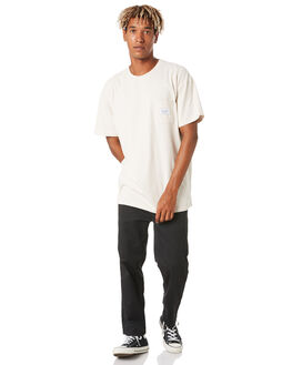WHITE SAND MENS CLOTHING STUSSY TEES - ST006018WTSND