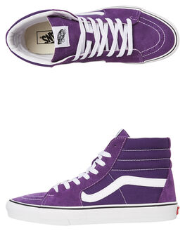 PURPLE WOMENS FOOTWEAR VANS SNEAKERS - SSVNA4BV6V7FW