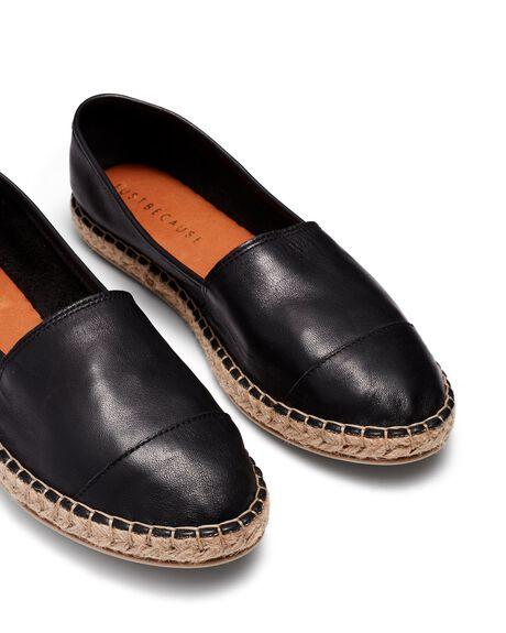 BLACK WOMENS FOOTWEAR JUST BECAUSE SNEAKERS - 21568BLK