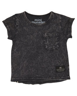 ACID BLACK KIDS BABY MUNSTER KIDS CLOTHING - MI181TE07ABLK