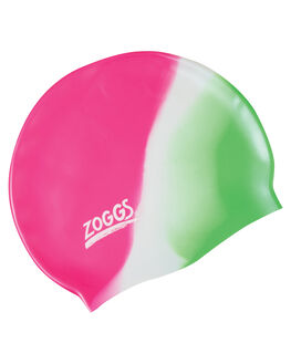 PINK WHITE GREEN BOARDSPORTS SURF ZOGGS SWIM ACCESSORIES - 300634PINKW