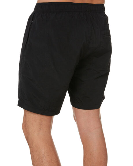 BLACK MENS CLOTHING THRILLS SHORTS - TS20-316BBLK