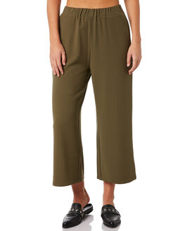 CAMO GREEN WOMENS CLOTHING DR DENIM PANTS - 1630101-327