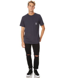OIL GREY MENS CLOTHING RVCA TEES - R171061OGRY