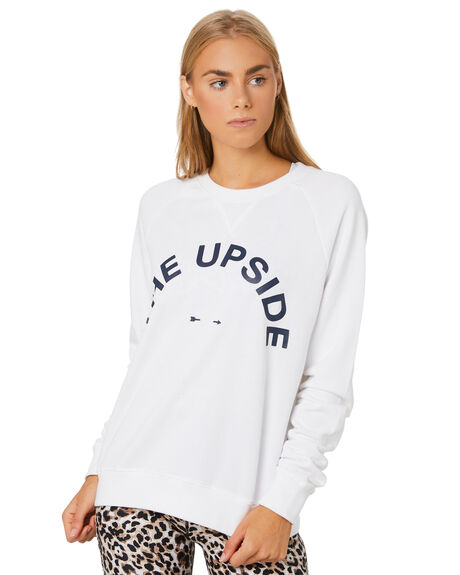 WHITE WOMENS CLOTHING THE UPSIDE ACTIVEWEAR - USW019001WHT