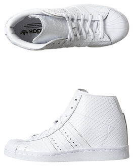 WHITE WHITE WOMENS FOOTWEAR ADIDAS ORIGINALS SNEAKERS - S76405WHI