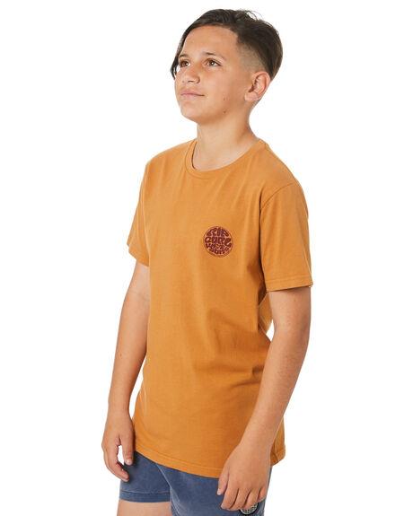 ALMOND KIDS BOYS RIP CURL TOPS - KTEMN90057