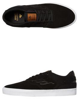 BLACK BROWN MENS FOOTWEAR EMERICA SKATE SHOES - 6102000096-590
