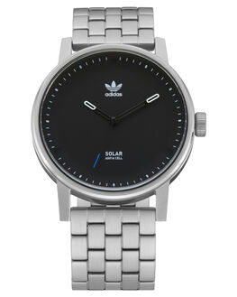 SILVER BLACK MENS ACCESSORIES ADIDAS WATCHES - Z24-625-00SIL