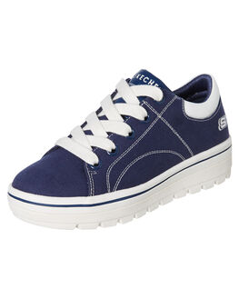 NAVY WOMENS FOOTWEAR SKECHERS SNEAKERS - 74100NVY