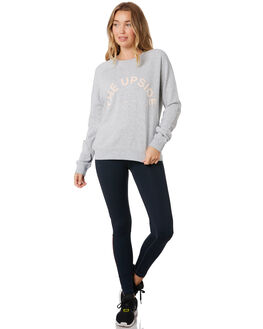 GREY MARLE WOMENS CLOTHING THE UPSIDE ACTIVEWEAR - USW219021GRYMR