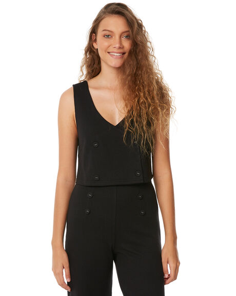 BLACK OUTLET WOMENS ZULU AND ZEPHYR FASHION TOPS - ZZ2139BLK