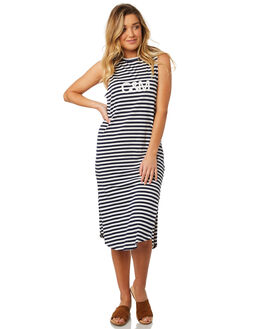 STRIPE WOMENS CLOTHING C&M CAMILLA AND MARC DRESSES - SCMT1551STR