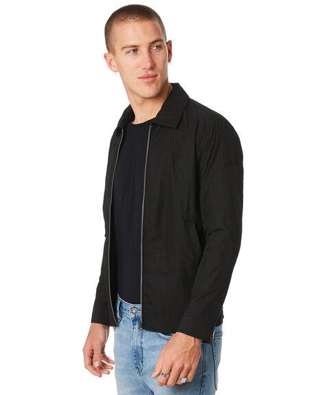 BLACK MENS CLOTHING NEUW JACKETS - 33380100