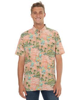 PEACH SUNSET MENS CLOTHING BARNEY COOLS SHIRTS - 328-MC3IPSNST