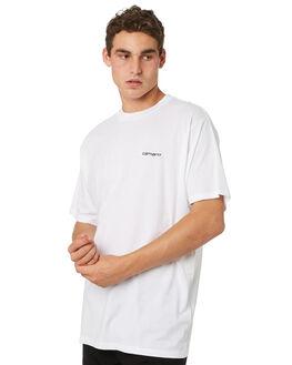 WHITE MENS CLOTHING CARHARTT TEES - I025778WHT