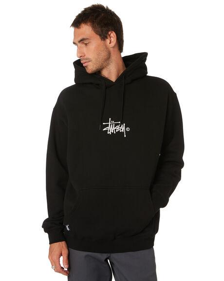JET BLACK SAND MENS CLOTHING STUSSY JUMPERS - ST005203JTBKS