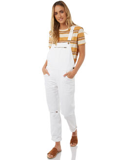 WHITE WOMENS CLOTHING BILLABONG PLAYSUITS + OVERALLS - 6585432WHT
