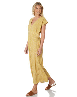 DECO GOLD WOMENS CLOTHING SAINT HELENA PLAYSUITS + OVERALLS - SH18SU990ZDECG