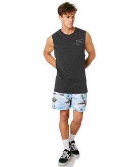 BLACK MARLE MENS CLOTHING RIP CURL SINGLETS - CTEQK23442