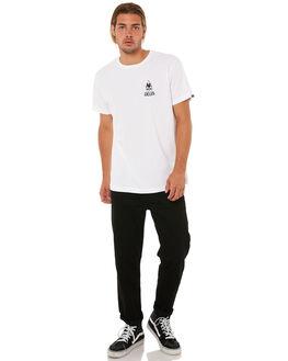 WHITE MENS CLOTHING DEUS EX MACHINA TEES - DMA81192BWHT