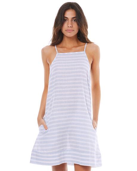 BLUE STRIPE WOMENS CLOTHING ELWOOD DRESSES - W74728BSTR