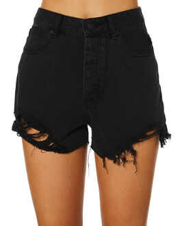 BLACK RIP WOMENS CLOTHING LEE SHORTS - L-656525-GE8