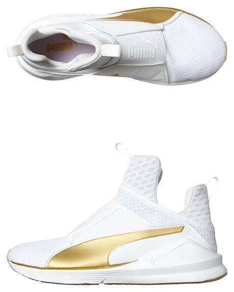 WHITE GOLD WOMENS FOOTWEAR PUMA SNEAKERS - 18919-201