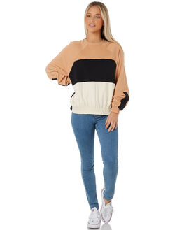 PRALINE WOMENS CLOTHING HURLEY JUMPERS - AJ3605-201