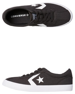 ALMOST BLACK KIDS BOYS CONVERSE SNEAKERS - 660739BLK