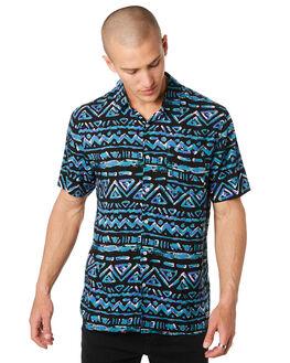 CHARCOAL MENS CLOTHING BILLABONG SHIRTS - 9596206CHAR