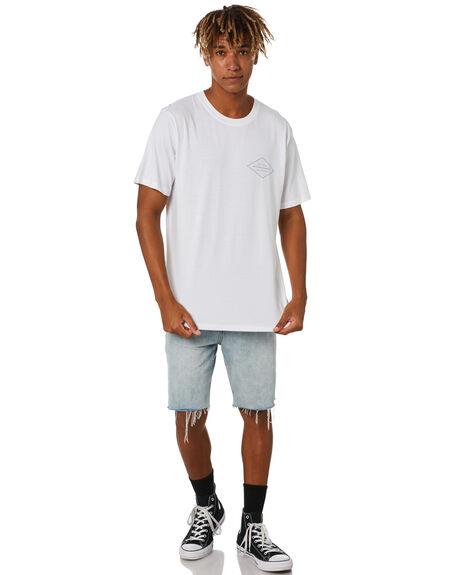 WHITE MENS CLOTHING RIP CURL TEES - CTESU91000