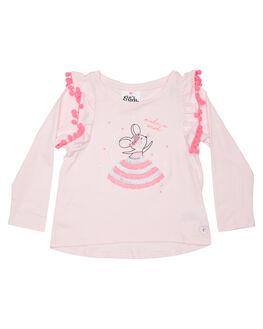 PASTEL PINK KIDS GIRLS EVES SISTER TOPS - 8034031PNK
