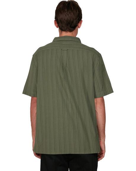 GREEN ASH MENS CLOTHING ELEMENT SHIRTS - EL-194215-ANE
